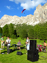 Diego bei Rock the Dolomites